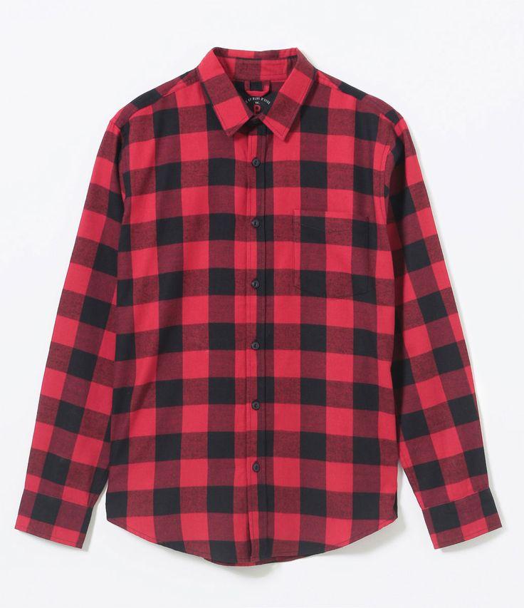 Camisa masculina  Manga longa  Xadrez  Marca: Blue Steel  Tecido: Flanela  Composição: 100% algodão  Modelo veste tamanho: M       COLEÇÃO VERÃO 2017     Veja outras opções de   camisas masculinas  .