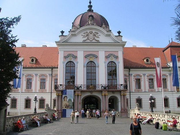 Grassalkovich-palace-Gödöllő