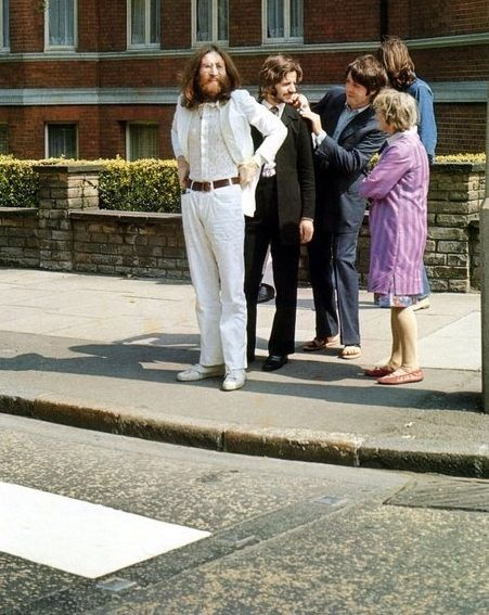 right before abbey road
