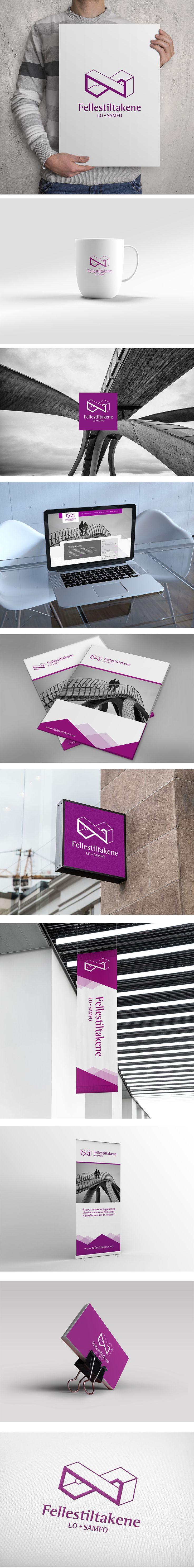 Visual identity for Fellestiltakene in Norway. #design #branding #identity #graphicdesign