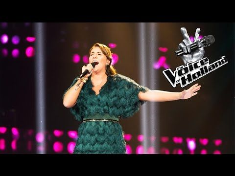 Melissa Janssen - Rolling In The Deep (The voice of Holland 2015 | Liveshow 2) - YouTube
