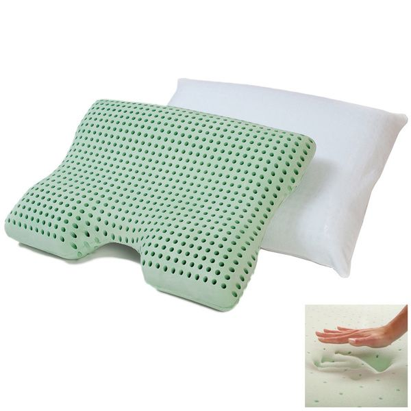 dream form dual comfort memory foam pillow with cover overstock shopping the best