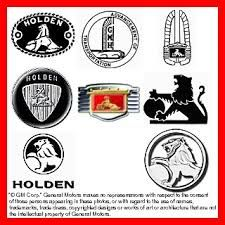 Holden Logo's over the years