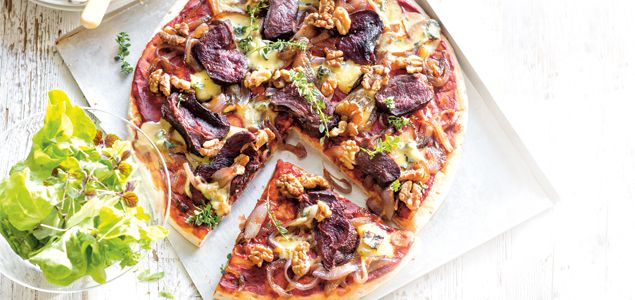 A simple, flavour-packed pizza using lean Silver Fern Farms Venison Medallions.