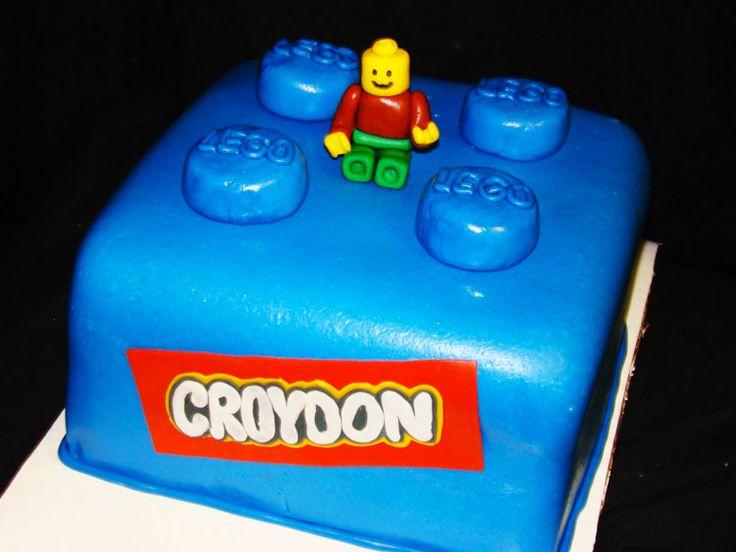 12 Birthday LEGO cakes
