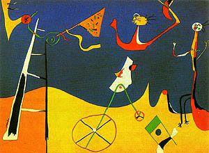 Joan Miro Circus 1934
