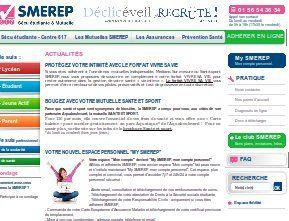 Aide pour accéder à la rubrique officielle client : my SMEREP. (Mutuelle en France)