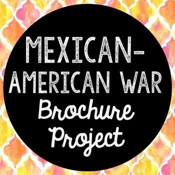 Mexican-American War Research Brochure Project. Perfect if you need to cover this time period, but need a condensed lesson unit! Use this as a guide for your own lesson or as an independent Internet research project.
