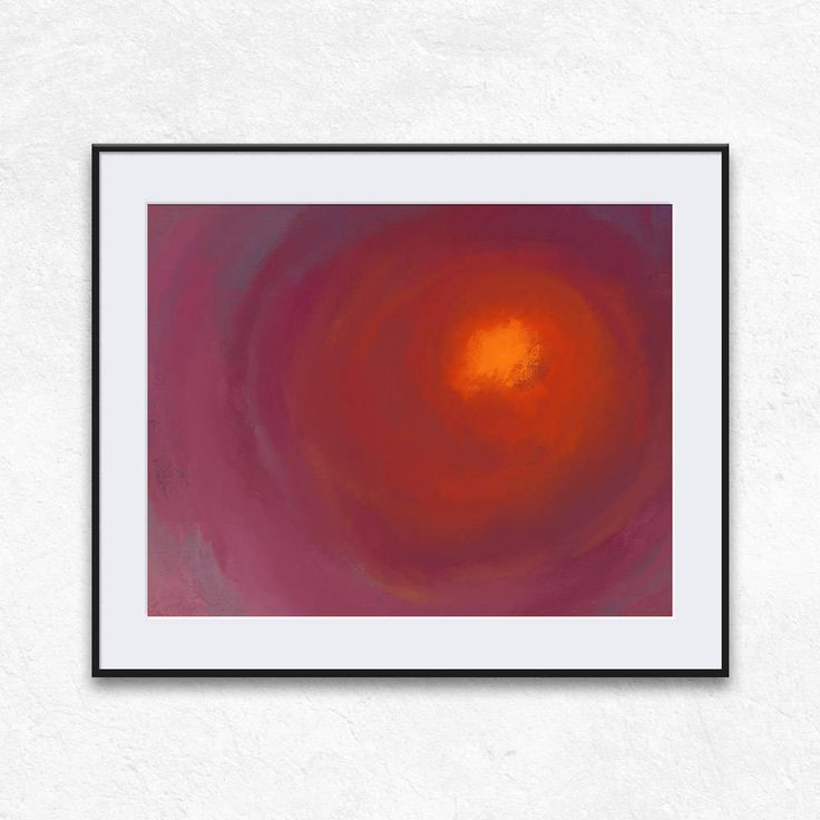 Sun print art abstract pink orange print abstract printable decor instant download contemporary abstract artwork abstract wall art woman by DreamScapeCentral on Etsy