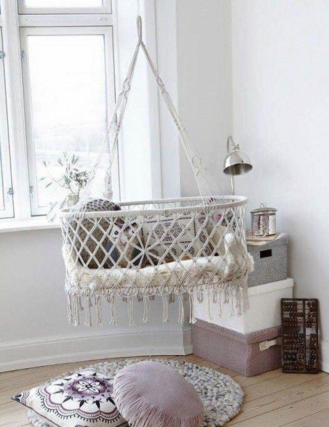 Las cunas colgantes para bebé son una excelente opción si estás buscando algo original y funcional para tu hogar.
