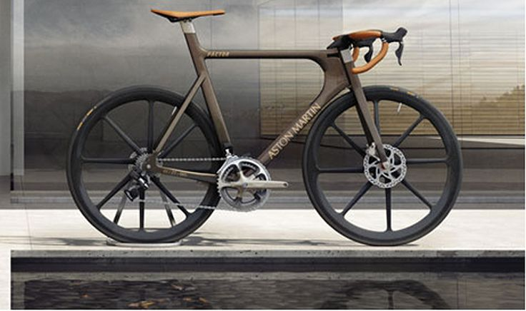 Aston Martin's Limited Edition Luxury Road Bike. The Technologically Advanced One-77 Cycle.