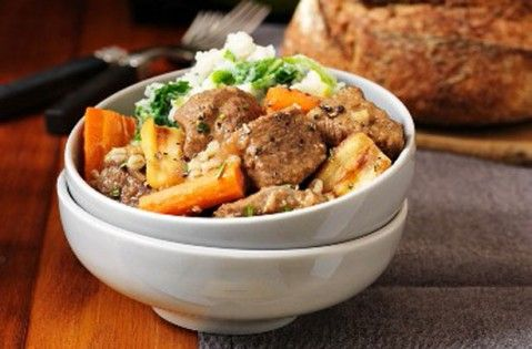 Dinner of the day - Spicy lamb meatballs in sherry sauce - goodtoknow
