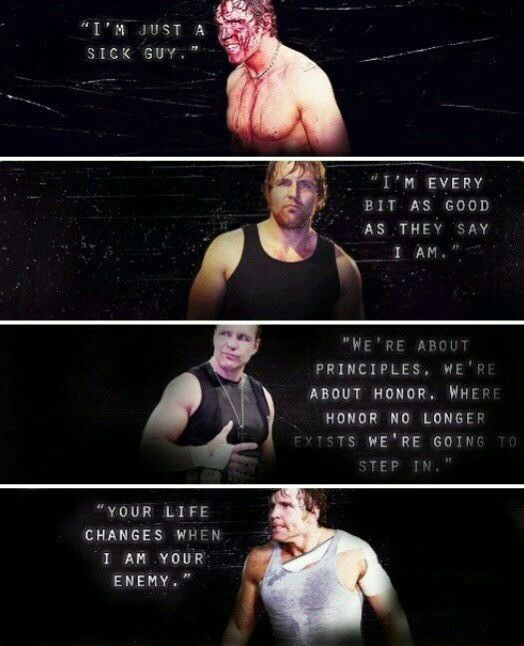 I luv how it goes from CZW , to FCW , to him in the shield , and to him on his own <3