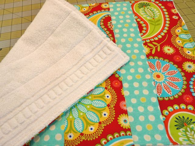 Handy Quilted Dish Mat (Link to tute) - HOME SWEET HOME