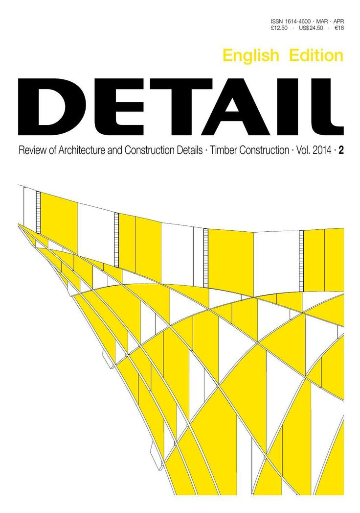 #ClippedOnIssuu from DETAIL English 02/2014 Timber Construction