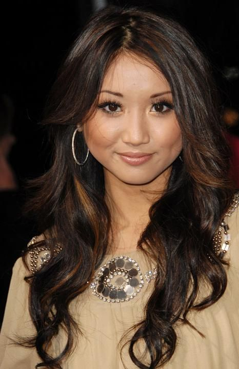 Brenda Song Pretty Loose Curl Layering And Caramel