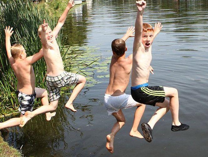 Zwemwater in het Groene Hart van Holland