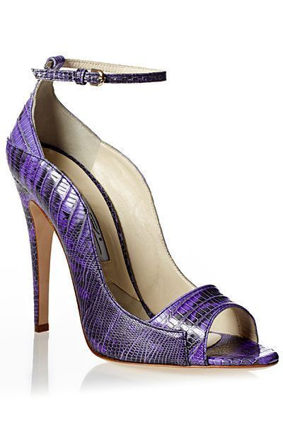 Brian Atwood ~ Violet Leather Peep Toe Pump #brianatwoodheelszapatos #brianatwoodheelspeeptoe #brianatwoodheelsdresses #brianatwoodheelsstyle
