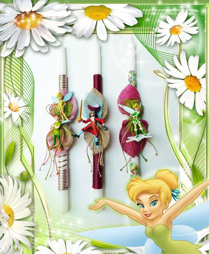 Λαμπάδες Disney Tinkerbell