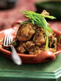 Chicken coconut curry (Africa (Malawi))