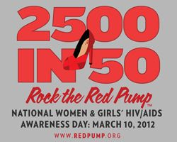 The Red Pump Project is FABULOUS. I love what RPP founders Karyn and Luvvie have done to promote women and girls' awareness of HIV/AIDS. It is a great women's health campaign that uses social media in a creative way. http://www.theredpumpproject.org/rock-the-red-pump/