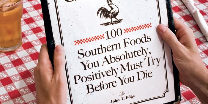 100 Southern Foods    From meats and sweets to seafood and sides–dig in to our interactive food map!