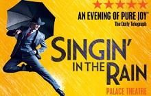 Singin' In The Rain tickets at the Palace Theatre  | London Theatre Direct