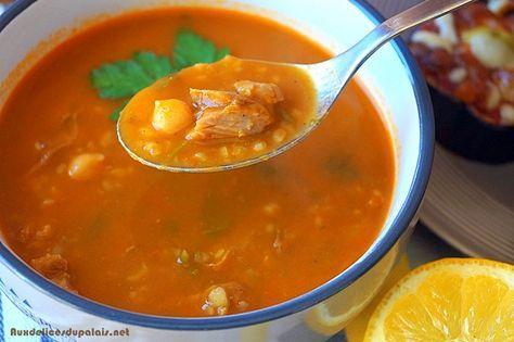 Chorba frik soupe algérienne / Ramadan 2016 · Aux delices du palais