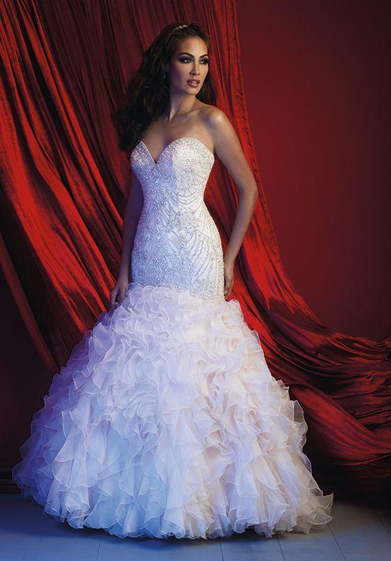 Allure Couture  Mermaid Wedding Dress
