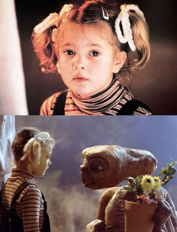 Drew Barrymore In E T The Extra Terrestrial 1982 Gethimback Drew Barrymore Favorite Movies Et The Extra Terrestrial