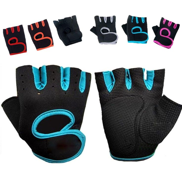 Neoprene Body Building Fitness Gloves Sports Weight Lifting Gloves Gym Training Exercise Workout Slip-Resistant for Men & Women