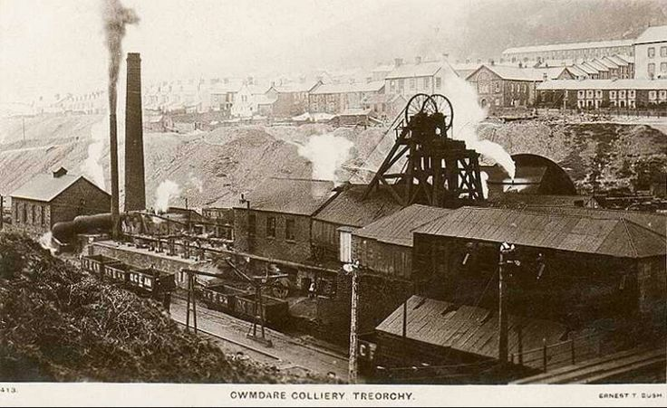 Cwmdare Colliery ,Treorchy Rhondda Valley | Coal Mining ...