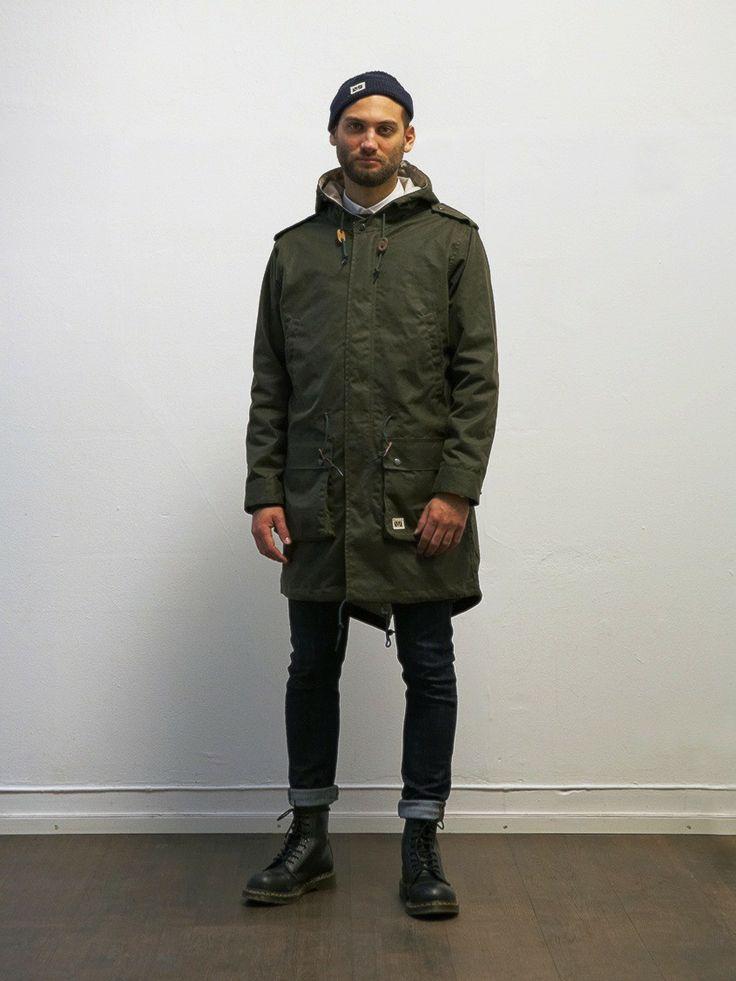 brixtol winter wood olive jacket