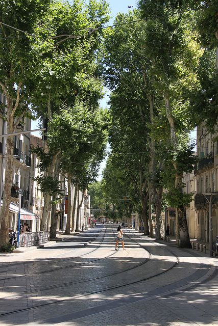 Boulevard Louis Blanc, Montpellier, France