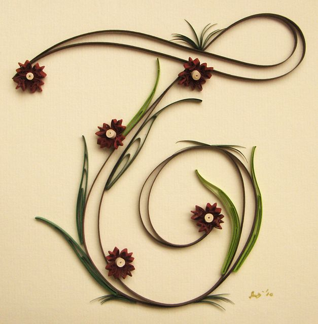 Quilling *T*