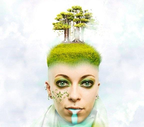 Креативные фото манипуляции на тему природы