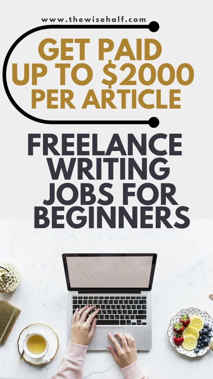 20 Top Sites To Find Freelance Writing Jobs for Beginners