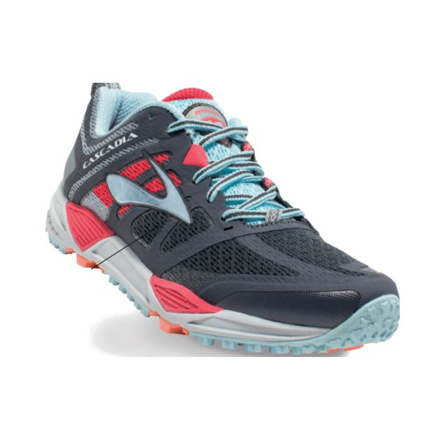 We love trail shoes! Try this new Brooks Cascadia 11 on in store! Shown