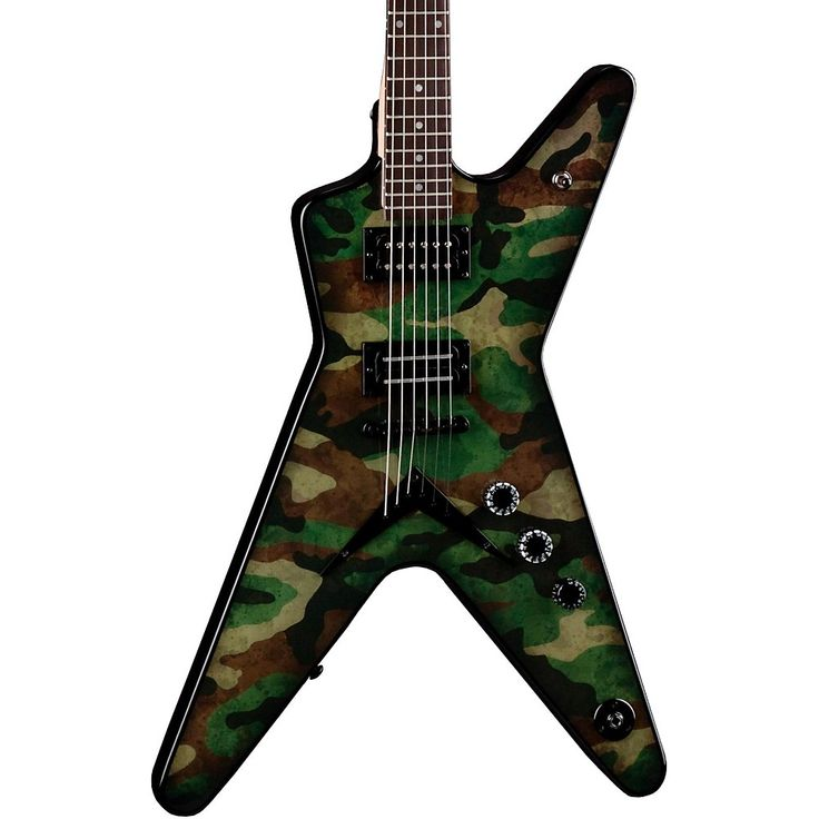 Dean Dimebag Dime Camo ML Electric Guitar Custom Graphic