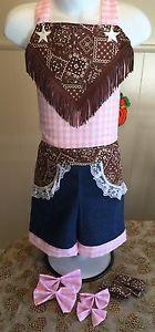 National Pageant Denim Western Wear Casual Wear Size 3 5T | eBay