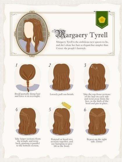 Elaborate Game Of Thrones Hairstyles You Can Do At Home