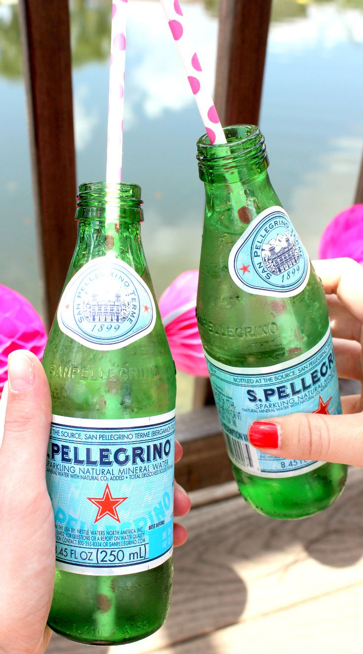 Nothing like a cold San Pellegrino in the summertime! :)   Guide to Hosting the Ultimate Summer Pool Party