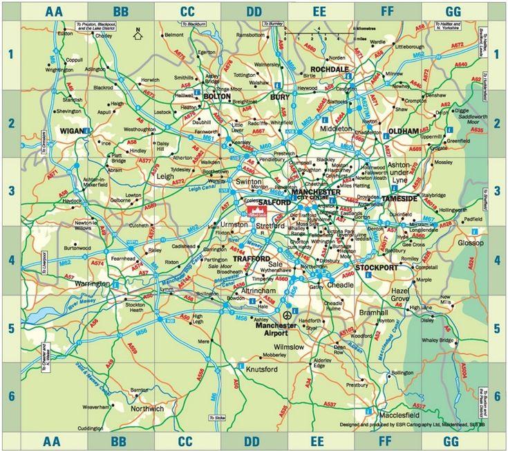 The Best Manchester Map Ideas On Pinterest - London map manchester