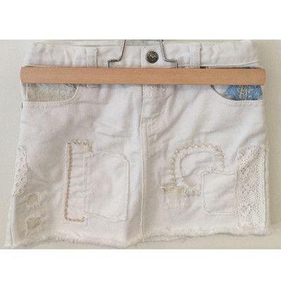 Closet Collections - Patchwork denim skirt