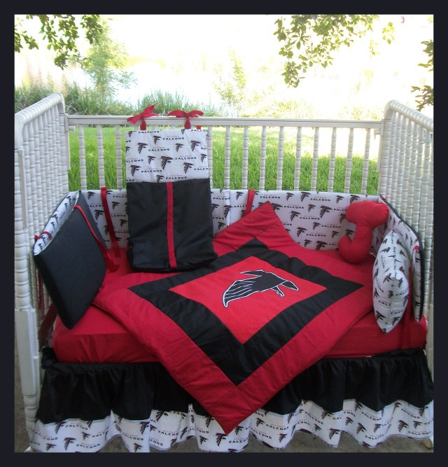 Atlanta Falcons Crib Bedding Set Little Falcons