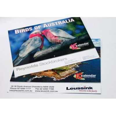 Extended back Australian calendars and personalised calendars.