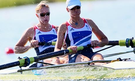 #TeamGB 1st GOLD! #London2012 #Olympics: #Rowing duo Heather Stanning and Helen Glover win Team GB's first gold.
