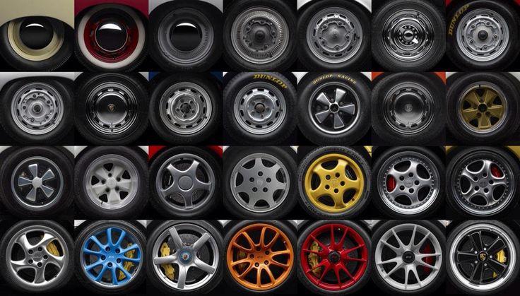 Porsche wheel evolution