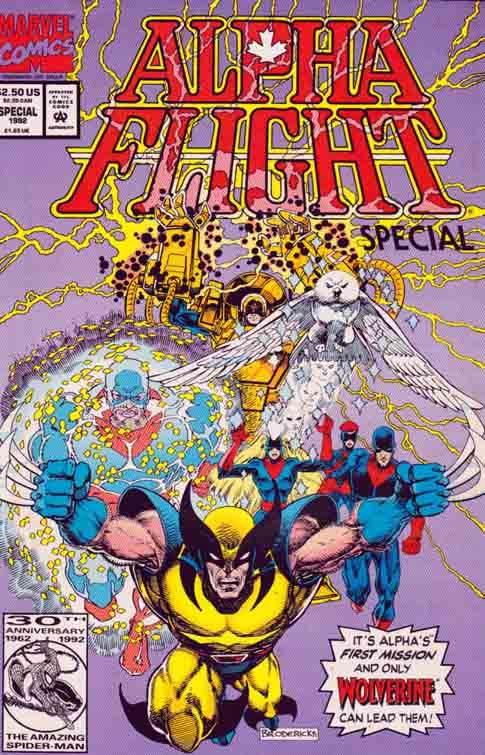 Alpha Flight Origin Special The Flight was a Canadian superhero team in the Marvel Comics universe. Their first (and, to date, only) appearance was in Alpha Flight Special vol. 2, #1 (1992).