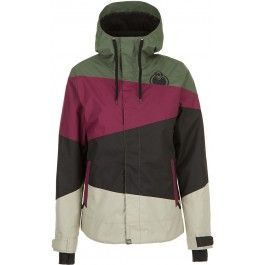 Nomis Stacy Womens Snowboard Jacket - Rifle Green #GetEternalGear